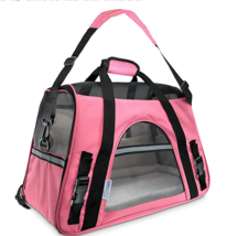 Paws & Pals Airline Approved Pet Carrier For Small & Medium Pets Pink - $29.95