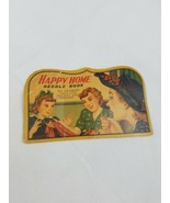 Vintage Happy Home needle book w/needles threader Japan sewing craft - $12.01