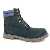 "Timberland Women's 6"" Double Sole Leather Dark Navy Ankle Boots Style A11AQ - $119.99"