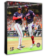 Kendrick Celebrates His 2 Run HR Game 7 2019 World Series-16x20 Photo on... - $89.99