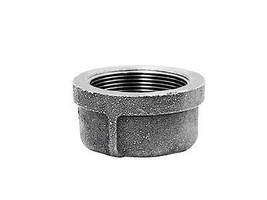Anvil  1 in. Dia. FPT  Black  Malleable Iron  Cap - $2.99