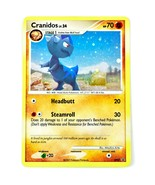 Pokemon TCG Cranidos DP07 Holo Shiny Promo Promotional Trading Card - $2.96