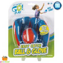 Easy Catch Ball & Glove Set Super Sport Outdoor Active Play Baseball Chi... - $15.99