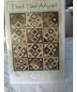 A Quilters Dream Third Time Around 55 x 74 74 x 74 quilt pattern - $4.88