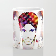 Coffee Mug Cup 11oz or 15oz Made in USA Prince 3 digital pop art L.Dumas - $19.99+