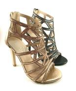 Italina PH7681 Gladiator High Heel Strappy Dressy Sandals Choose Sz/Color - $57.60