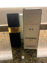 * RARE  VINTAGE CHANEL No 5 EDT RECHARGEABLE REFILLABLE SPRAY 100 ML - $168.30