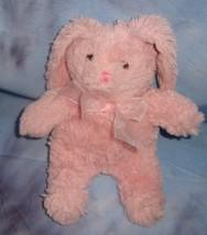 "Pink Bunny Rabbit Animal Adventure 10"" Stuffed Animal Plushie - $12.82"