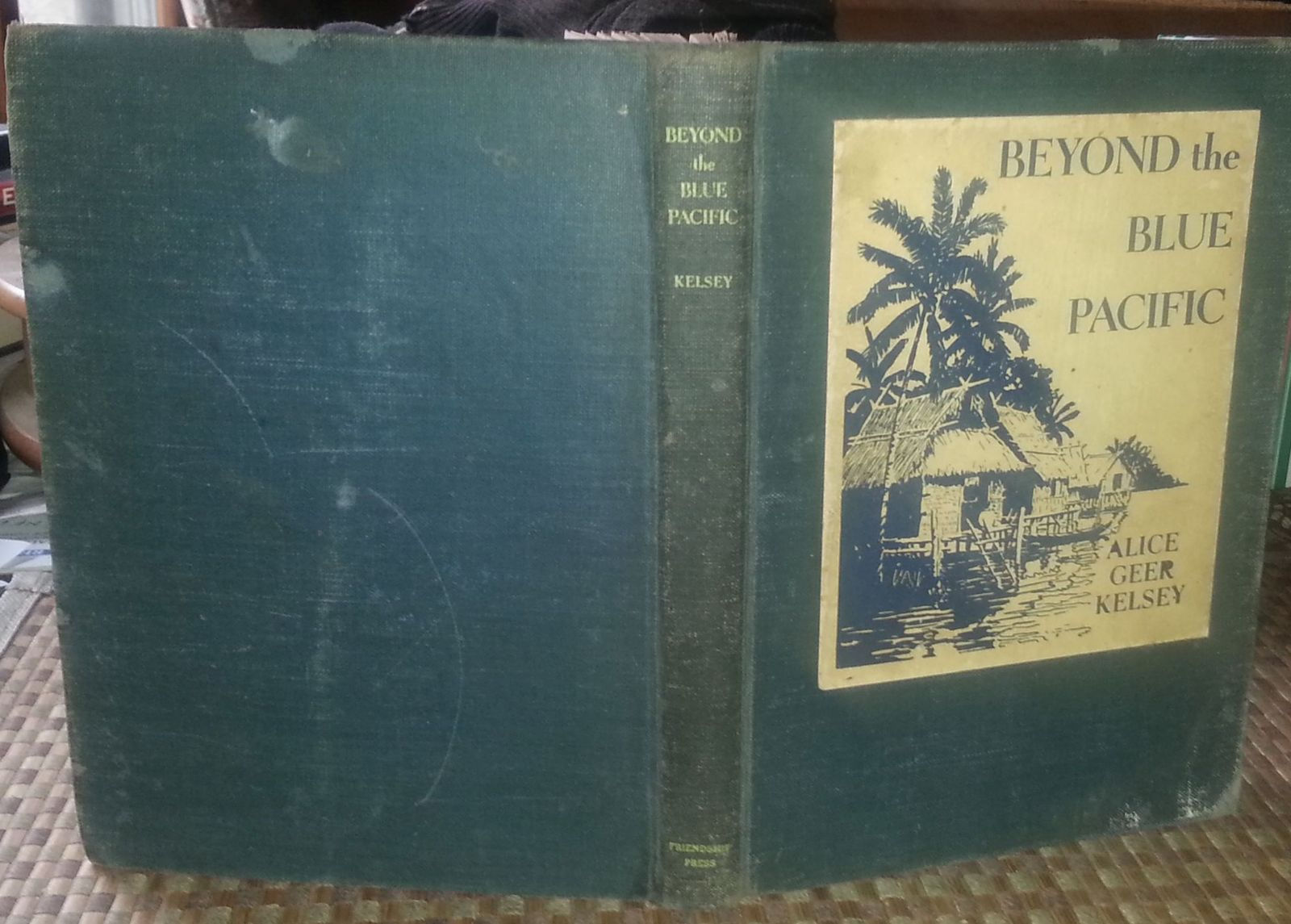 Beyond the Blue Pacific Alice Geer Kelsey 1944 HB Missionary