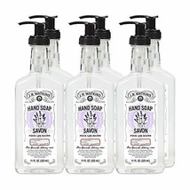 J.R. Watkins Liquid Hand Soap, Lavender, 11 Ounce Pack of 6