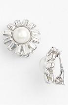 Lauren Ralph Lauren Faux Pearl & Crystal Clip Earrings $16.99 - $16.82