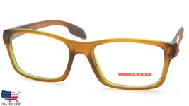 PRADA VPS 06D OAJ-1O1 BROWN /GREEN EYEGLASSES FRAME 55-17-145mm (DISPLAY... - $61.88
