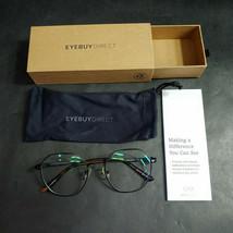 EyeBuyDirect Eyeglass Frames ONLY w/ Pouch, Sylvie, 53-19-140 - $20.55