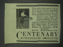 1930 Centenary Collegiate Institute Ad - Days alive with activity and in... - $14.99