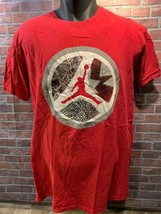 Jordan Brand Jumpman Elefant Aufdruck Laser Vi 6 Sohle T-Shirt GRÖSSE L - $20.72