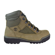 Timberland 6' Leather Men's Field Boots Beige-Green TB0A1RBP - $174.95