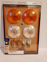 Genuine Harley Davidson Turn Signal Lens Kit Clear ,Flat 69307-02 image 1