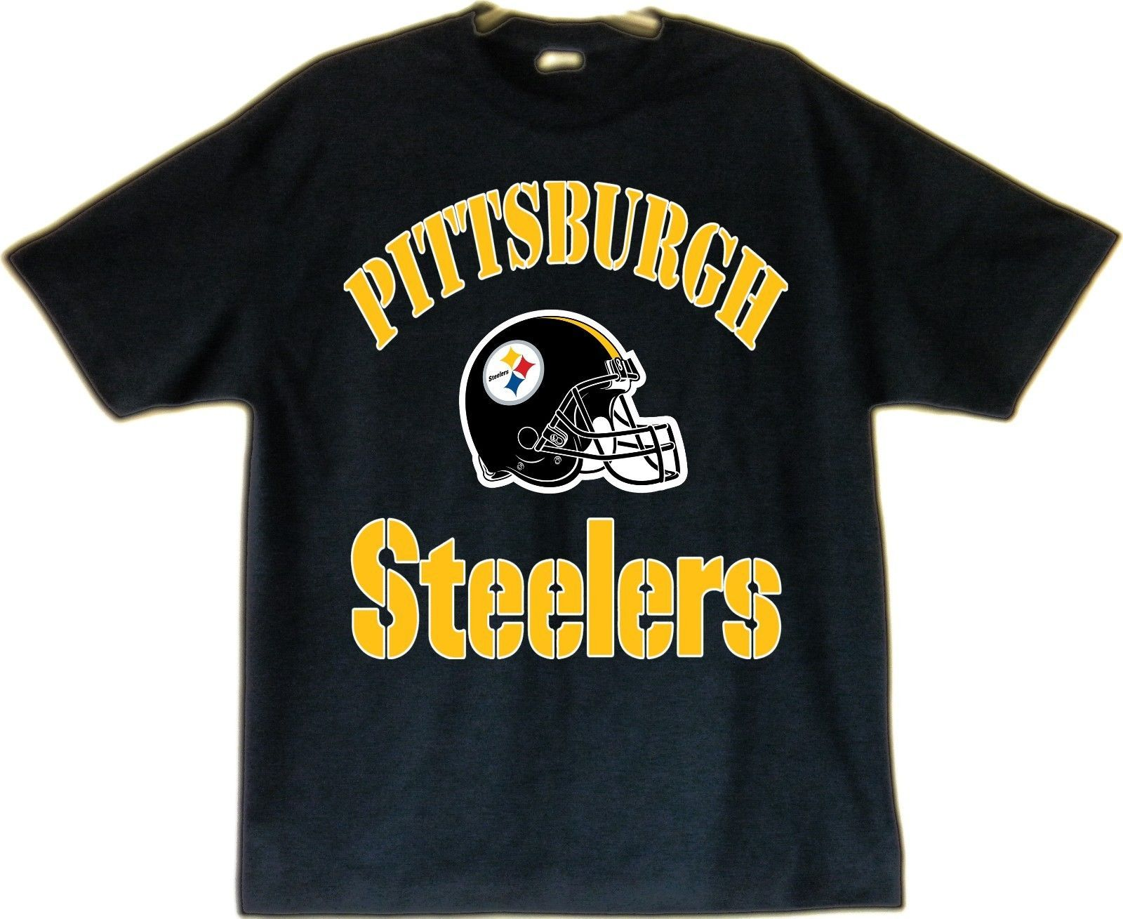 Primary image for Pittsburgh Steelers Image T-Shirt Black (S thru 4XL)