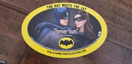 2019 SDCC COMIC CON EXCLUSIVE BATMAN CATWOMAN BAT MEETS THE CAT PROMO MA... - $7.91