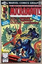 MICRONAUTS #28 (1981) Marvel Comics VG+/FINE- - $9.89