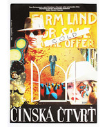 CHINATOWN Movie Poster Jack Nicholson Faye Dunaway 1976 Collage Cinema Art - $279.00