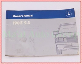 1984 Mercedes Benz 190 E 2.3 Owners Manual Booklet Chassis 201 OEM - $19.80
