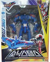 Tobot V Sonic Stealth Action Figure Fighter Plane Transforming Robot Toy image 5