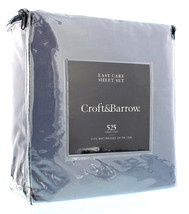 NEW!! Croft and Barrow California King Sheet Set 525 Thread Count LIGHT ... - $125.77