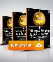 Talking and Singing Pumpkins / Jack-O-Lanterns - Projection Effect - Dig... - $19.99