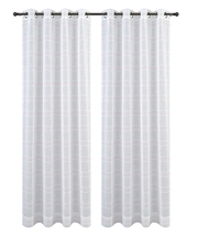 Urbanest Chamon Set of 2 Sheer Curtain Drapery Panels with Grommets image 15