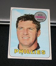 1969 Topps Baseball Card #531 Dick Farrell - $0.98