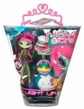 NEW NOVI Stars I Light Up Glow in the Dark Alie Lectric 7 Inch Doll + Pe... - $39.99