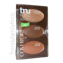 COVERGIRL TruBLEND Contour Palette, 0.28 Oz, Dark Highlight Contour Bronzer - $5.93