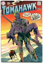 Tomahawk Comics #121 1969-Neal Adams- DC Western Silver Age- FN+ - $50.44