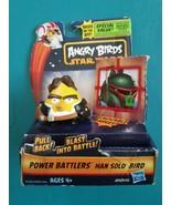 New Angry Birds Star Wars Hans Solo Bird Power Battlers - $17.81