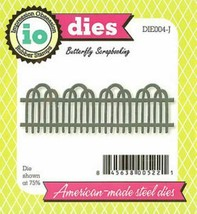 Impression Obsession Steel Fence Die - DIE004-J
