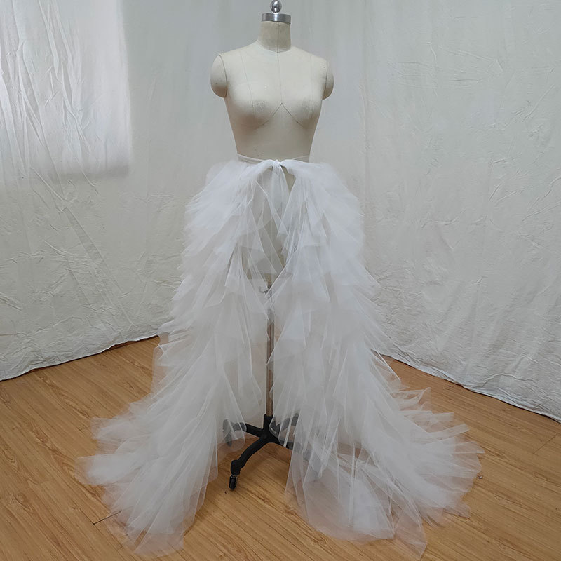 White tiered skirt 1