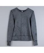 Lululemon Rush Hour Long Sleeve Women's Size 4 Jacquard Luon Spray Black... - $39.59