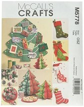 McCall's Patterns M5778 Holiday Decorations, One Size Only - $14.21
