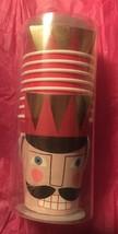 THE NUTCRACKER 8 PAPER CUPS CHRISTMAS TABLE NEW - $140,44 MXN