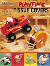 Plastic Canvas 4x4 Truck Football Helmet Carriage West Cat Tissue Cover ... - $14.99