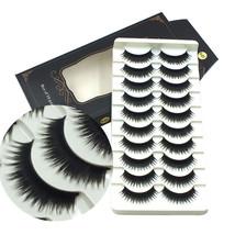 Gam-Belle® 10 pairs/lot Cheap False Eyelashes Lot Thick Long Lashes 3D S... - $7.20