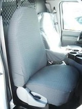 1993-2008 Ford E-Series Van Captain Chairs Waterproof Custom Made Seat Covers - $180.00+