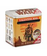 NEW SEALED  2021 Star Wars Mandalorian + Child Metal Mini Valentine's Ma... - $14.89