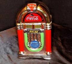 Coca-Cola Jute Box Cookie Jar with Lid AA18-1312 2002 - $97.95