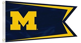 Fremont Die NCAA Michigan Wolverines Boat Flag, Small, Green - $29.36