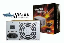 Shark 500 Watt Desktop PC Power Supply - Micro ATX 500W PSU 20+4Pin SATA 12V USA image 2