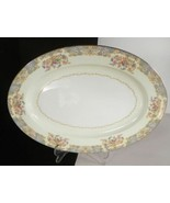 Noritake China Berenda Oval Serving Platter 11-5/8 Japan Floral 4017 - $27.67