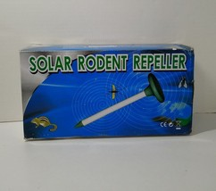 2 X Solar Sonic Mole Mouse Mice Gopher Vole Rodent Pest Repellent Repeller - $17.41
