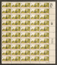 Rise of the Spirit of Independence, Drummer, Sheet of 8 cent stamps, 50 ... - $7.50